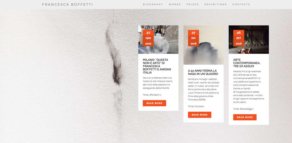 Homepage Francesca Boffetti